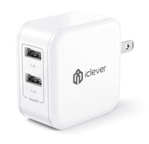 iClever BoostCube 24W Dual Power Adapter