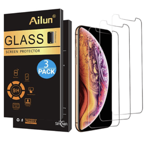 Ailun 3-Pack Glass Screen Protector