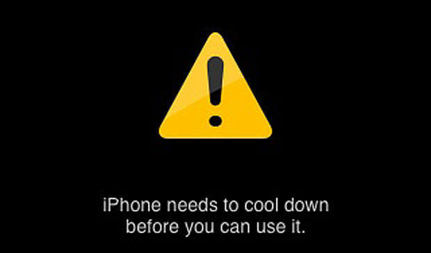 Warning Message: iPhone X Overheats