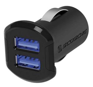 Scosche ReVolt Compact 24W Dual USB Car Charger
