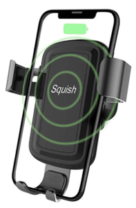 Squish Wireless Charger Air Vent iPhone Car Holder