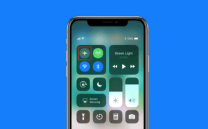 Airplane Mode On Control Center
