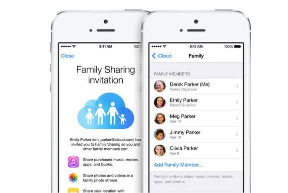 Getting Started With Family Sharing