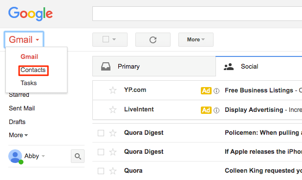 Gmail On Browser