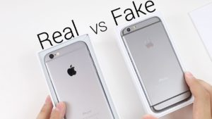 Original & Fake iPhones