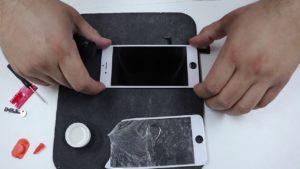 Réparation d'écran iPhone fissuré à faire soi-même