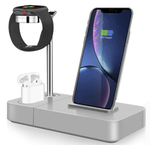TGHUANG 3-in-1 Wireless Charging Station Stand