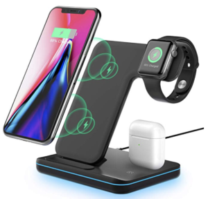 MOING 3-in-1 Wireless Charging Stand
