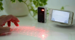 The Best Laser Keyboard Projector for iPhones and iPads