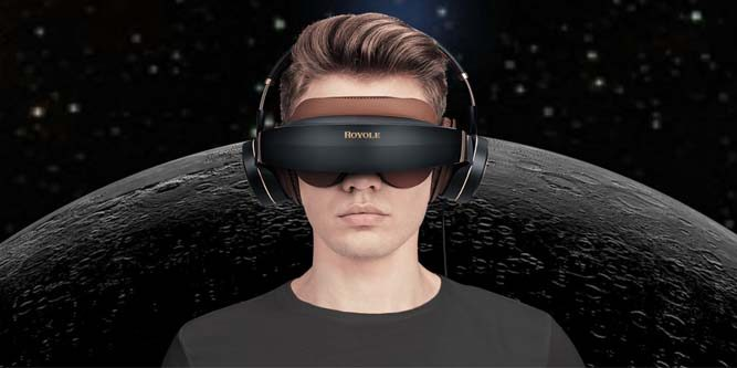Royole Moon iPhone headset – bring a '3D cinema' with you anytime, anywhere