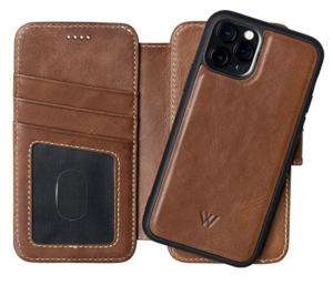 Wilken Leather Detachable iPhone Wallet Case