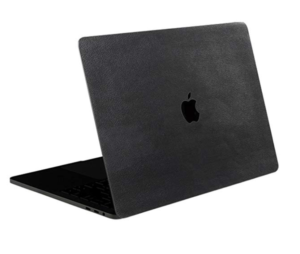 SOJITEK Black Leather 4-in-1 MacBook Skin