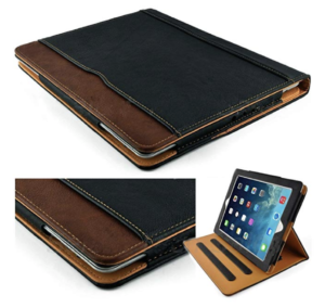 S-Tech Magnetic Soft Leather iPad Cover
