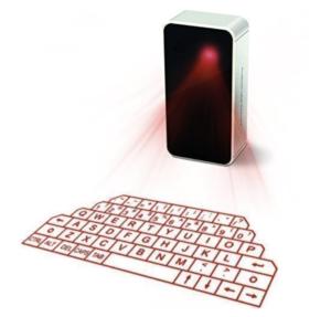 AGS Wireless Laser Projector Bluetooth Keyboard