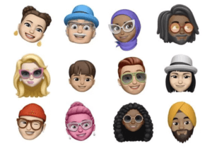 iPhone XR Memoji 3D avatars