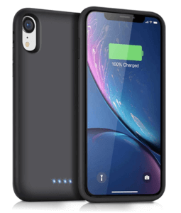 QTshine Battery Case For iPhone XR